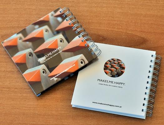 Cuadernos Personalizados | Tamaño Cuadrado 15 x 15 cm. | Contratapa