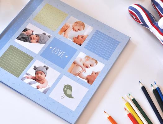 Fotolibro del Bebé. Descargá el software gratuito y diseñá tus propios álbumes. Preservá todos tus recuerdos familiares!