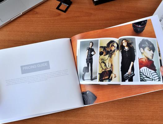 Look Book o Portfolio para Fotógrafos.