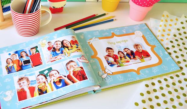 Fotolibro para egresados. Anuario Escolar. Descargá el proyecto completo para colocar tus fotos!