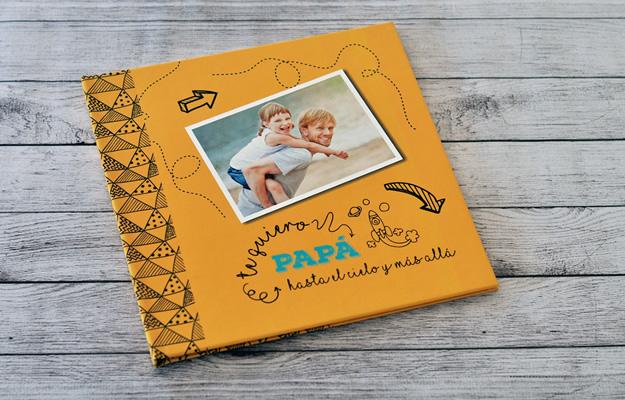 fotolibro para el día del padre para descargar gratis y completar con tus propias fotos