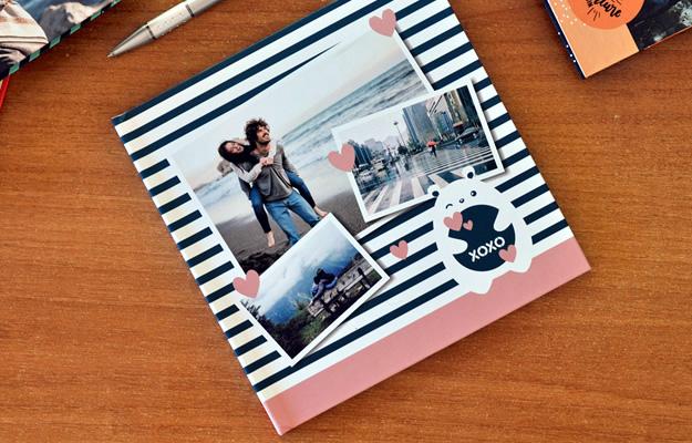 """Diseño de fotolibro """"XOXO"""" para el Día de los Enamorados, Novios o lo que quieras!"""