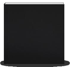Fotolibro 29 x 29 cm. Tapa Dura Simil Cuero Negro