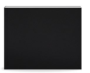 Fotolibro 41 x 29 cm. Tapa Dura Simil Cuero negro
