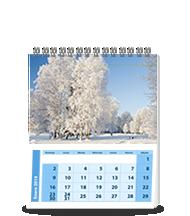 Calendario Personalizado Mediano - Tamaño Carta