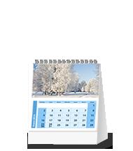 Calendario 15 x 14 para escritorio