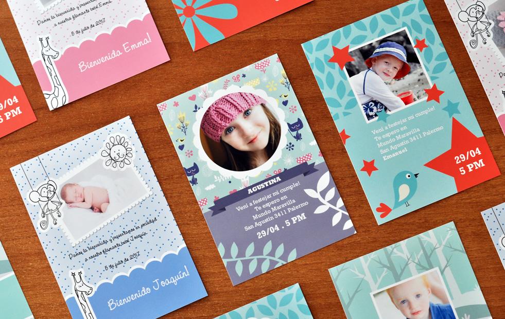 tarjetas invitaciones y postales fotolibros y photobooks premium