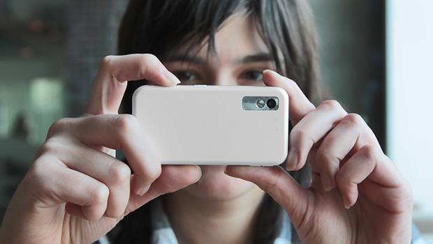Sacando una foto