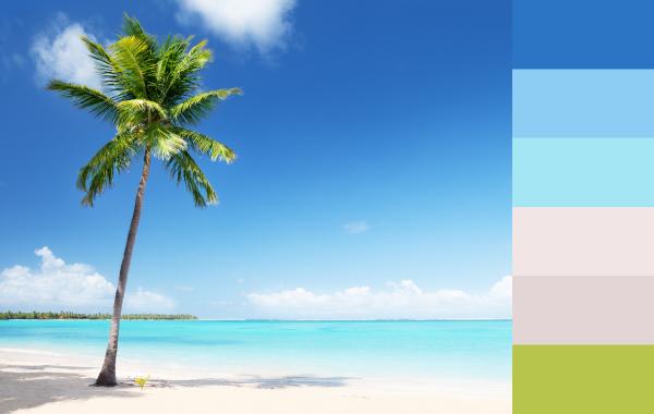 """Fondos para fotolibros """"Caribe Tropical"""""""