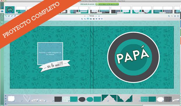 Multipa - Proyecto completo - Fotolibro para el Día del Padre