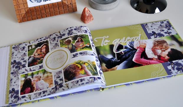 Fotolibro Mamá Clásica. Un regalo original para el Día de la Madre. Descargá el proyecto completo para colocar tus fotos!
