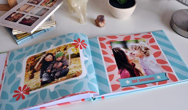 Fotolibro Mamá Moderna. Un regalo especial y personalizado para el Día de la Madre. Descargá el proyecto completo para colocar tus fotos!