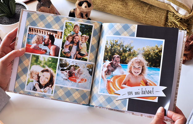 Fotolibro para el Día del Padre - Diseño Palabras para descargar