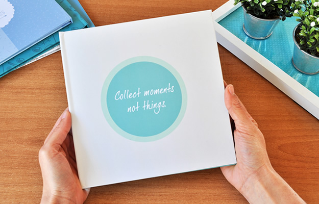 Fotolibro Collect Moments - Para descargar gratis y completar con tus fotos!