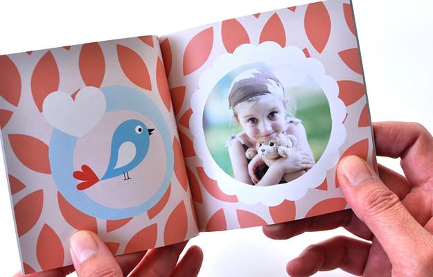 Fotolibro Souvenir Cumplaeaños Infantil 10x10 Spring Time