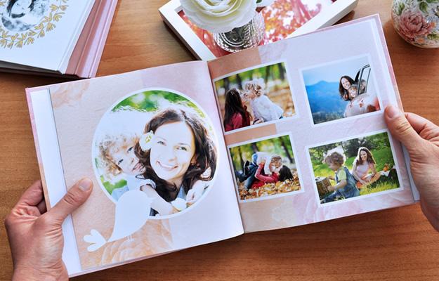 Fotolibro Acuarela Garden para descargar y completar con tus fotos
