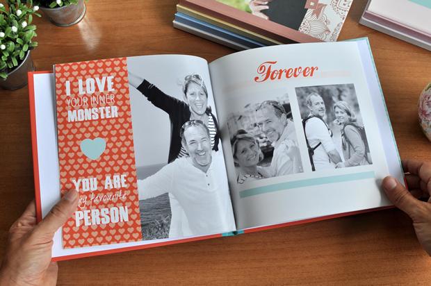 Fotolibro para Día de los Enamorados, San Valentín o aniversario