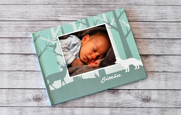 fotolibro infantil para descargar gratis y completar con tus fotos