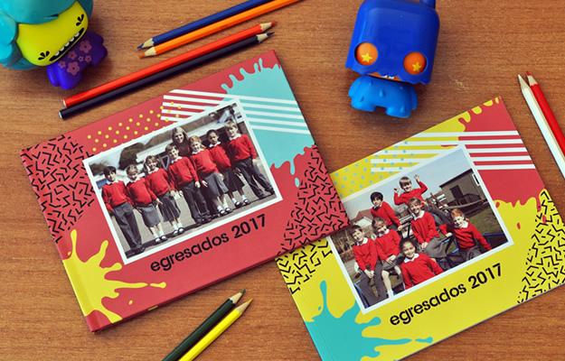 fotolibro anuario escolar o egresados junior para descargar gratis
