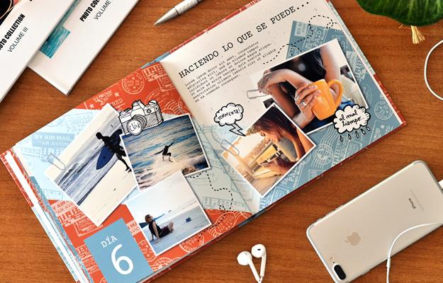 Diseño de fotolibro de vacaciones | BackPack