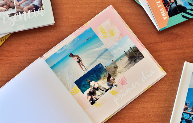Fotolibro Viajes y Vacaciones - Light Summer - Descarga Gratis