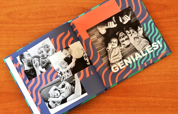 Regalo original para el Día del Padre - Fotolibro Wavy