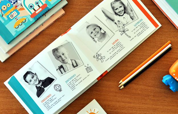 Anuario Escolar o Album de Egresados | Doodles Vol. 1