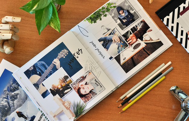 Mood Board Vol. I - Diseño de fotolibro para descargar gratis y completar con tus fotos