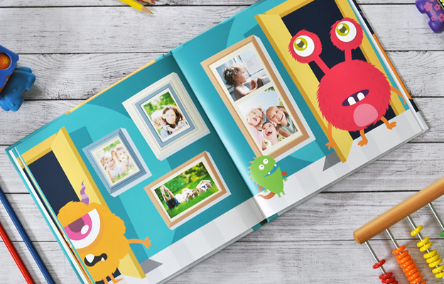 Monsteri - Diseño de Fotolibro Infantil para descargar gratis