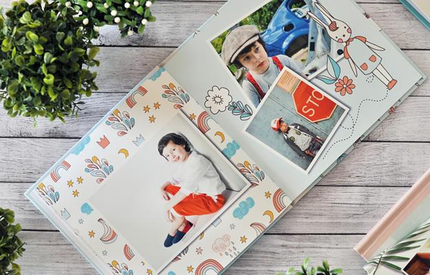 Tiny Toys - Diseño de fotolibro infantil para descargar gratis