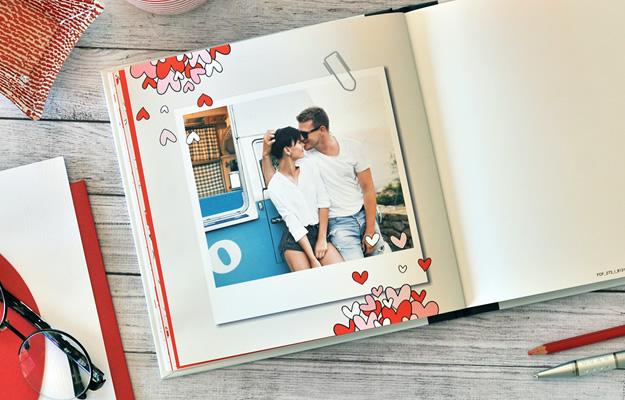 Cute Love. Fotolibro para San Valentín o Día de los Enamorados
