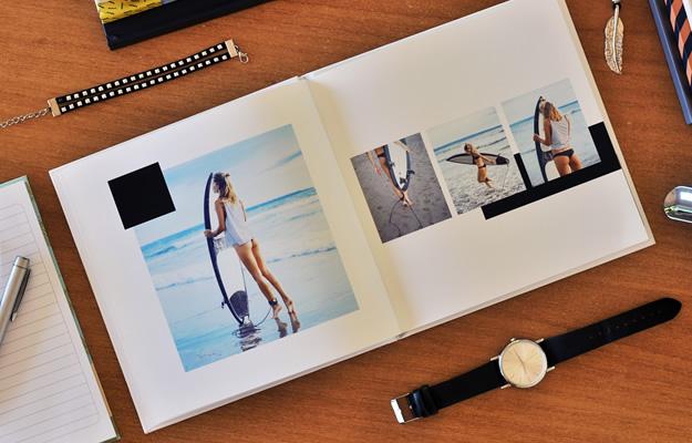 Flat - Diseño de fotolibro para descargar gratis y completar con tus fotos