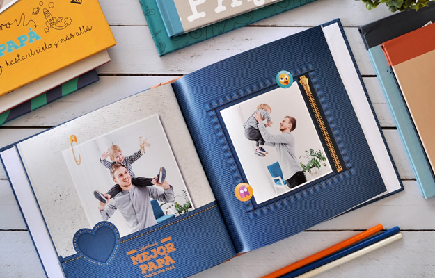 Blue Jeans - Diseño de Fotolibro para el Día del Padre