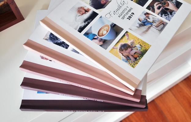 Colección Flat Colors Brown | Diseño de fotolibro para descargar gratis