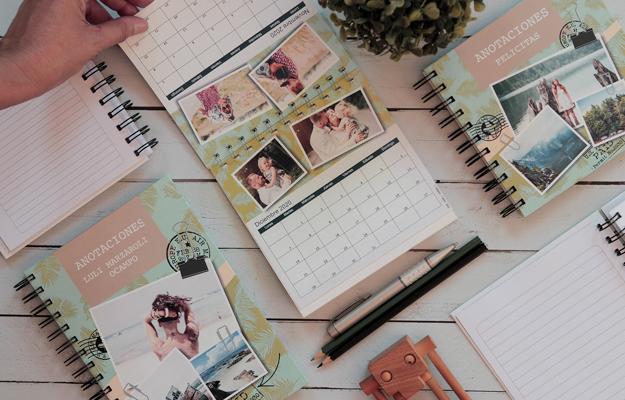 Verona. Diseño de calendario personalizado para descargar gratis y completar con tus fotos en el soft de compu!