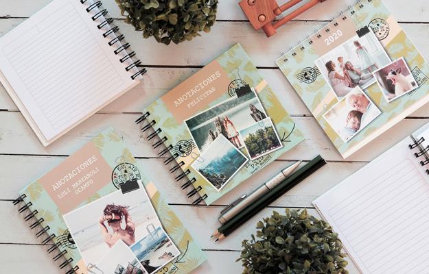 Verona. Diseño de cuaderno personalizado para descargar gratis y completar con tus fotos en el soft de compu!