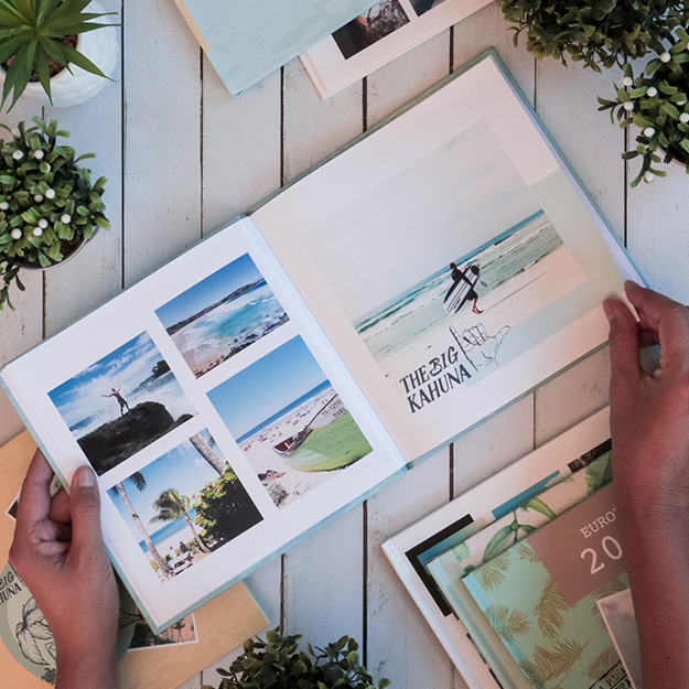 Beach Time. Fotolibro de viajes y vacaciones para descargar gratis.