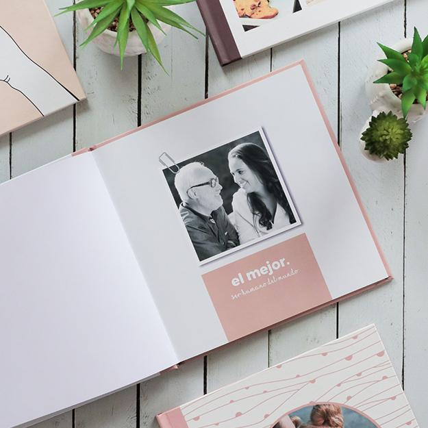"""Diseño de fotolibro """"Neto Brown"""" para el Día del Padre"""