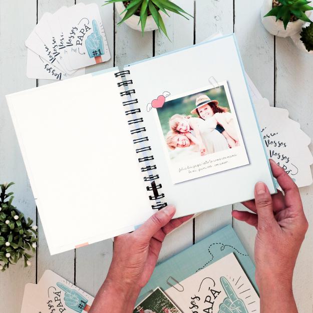 Cuaderno personalizado para el Día del Padre   Papá Nro. 1