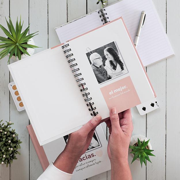 cuaderno personalizado regalo original dia del padre - neto brown