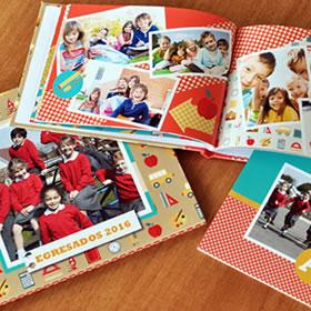 Fotolibros y Anuarios escolares