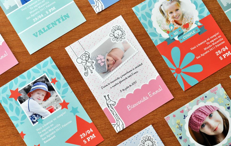 Tarjetas Invitaciones Y Postales